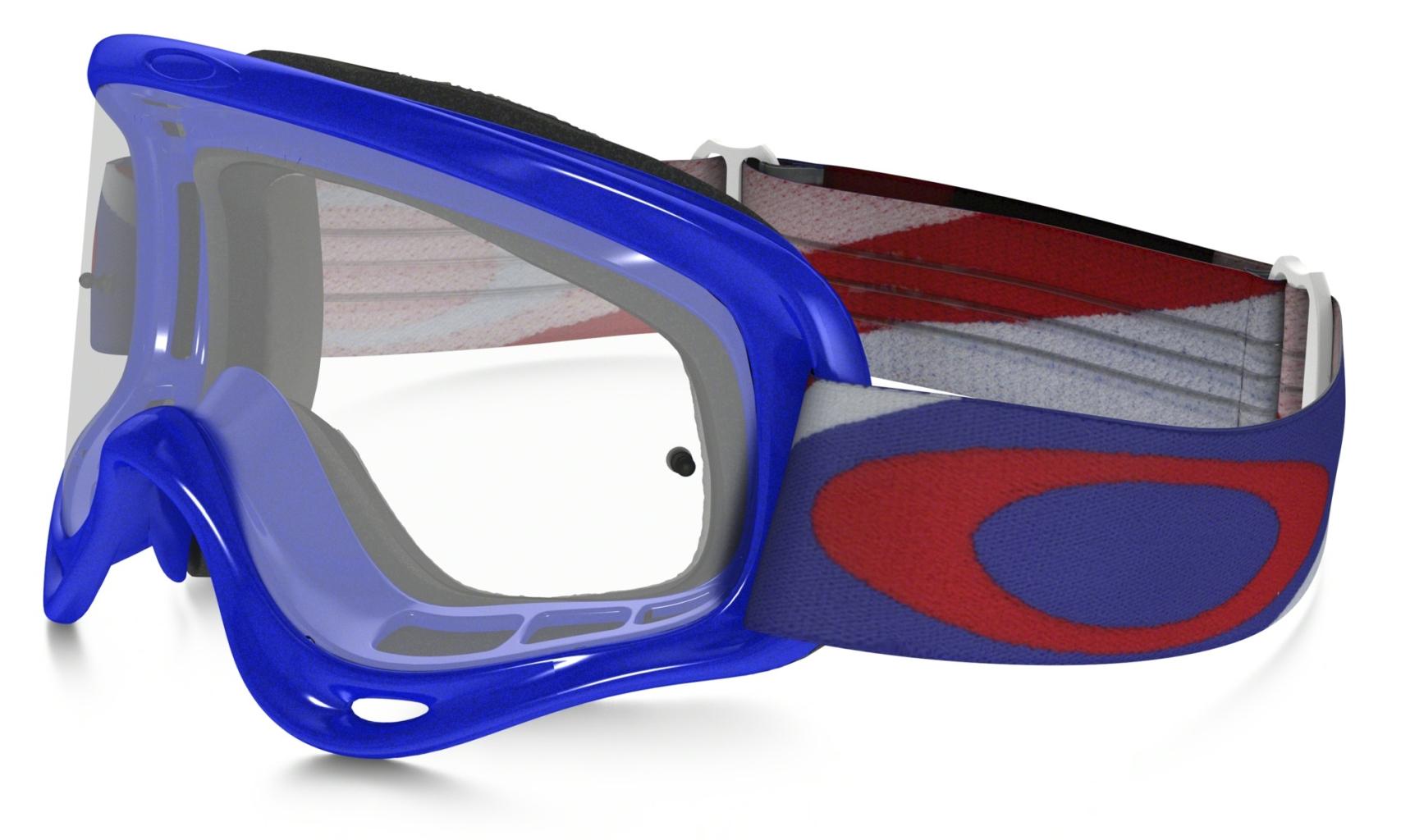 Oakley XS O Frame MX Heritage Racer RWB w/Clear-30