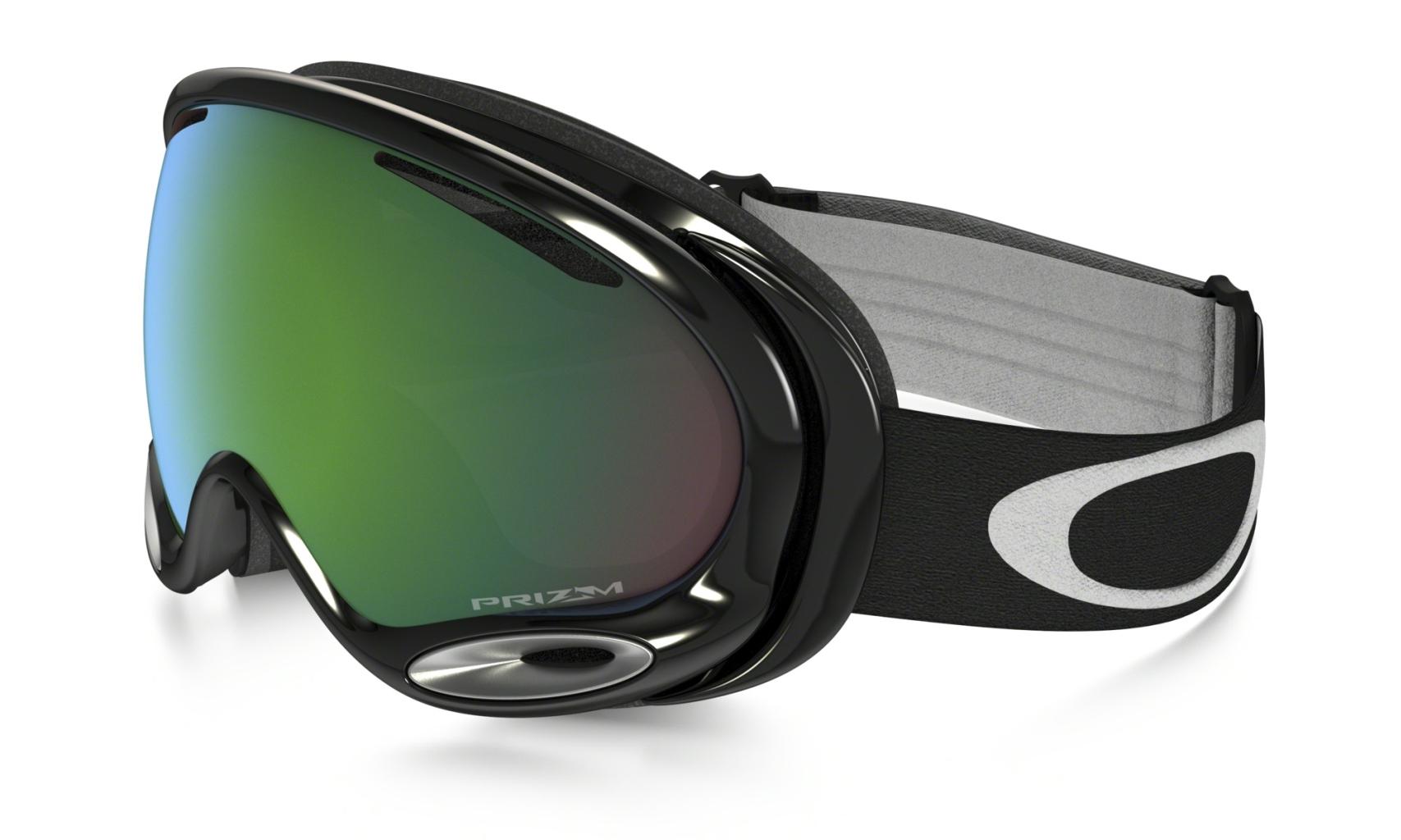 Oakley A Frame 2.0 Jet Black w/ Jade-30