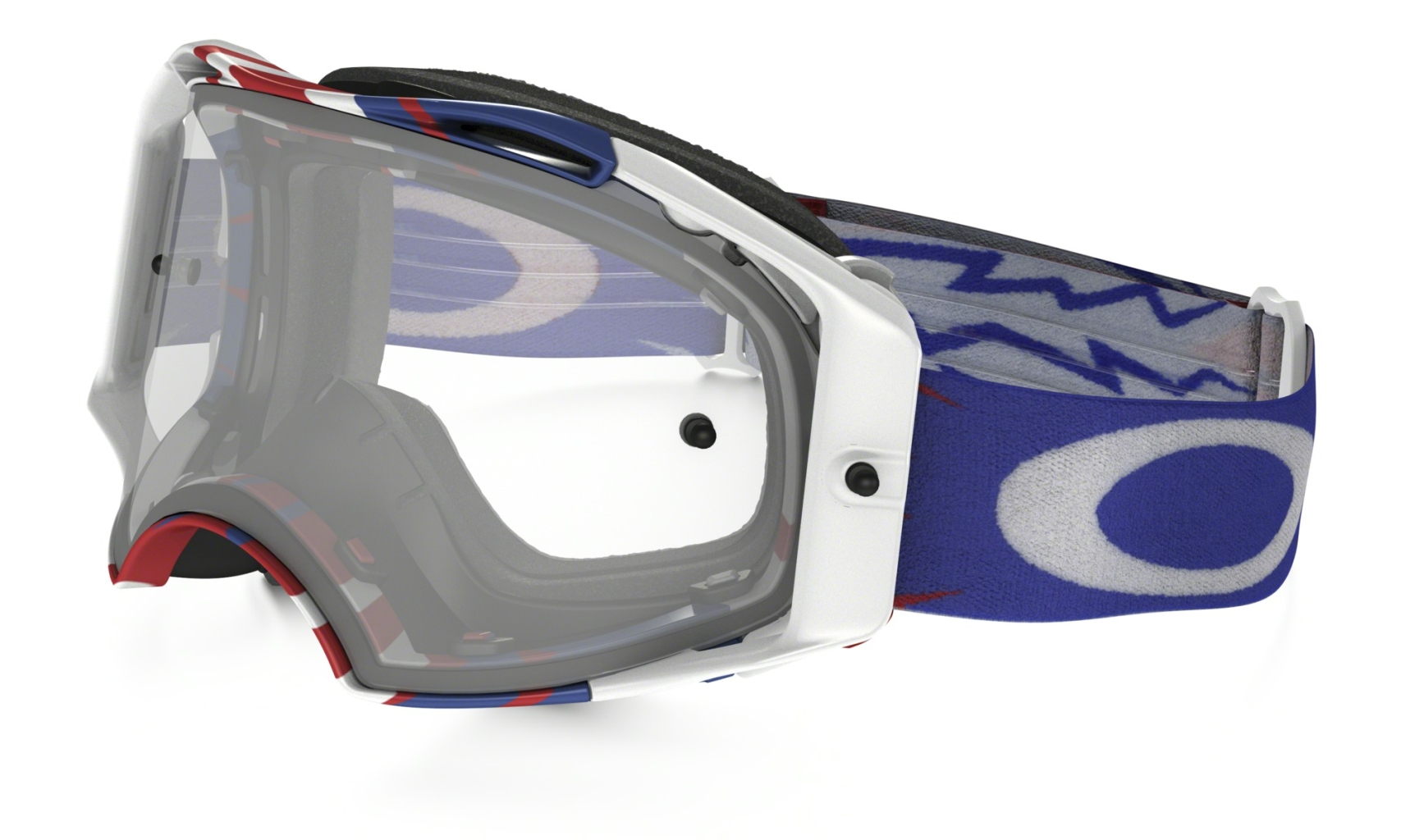 Oakley Airbrake Mx High Voltage RWB w/ Clear-30