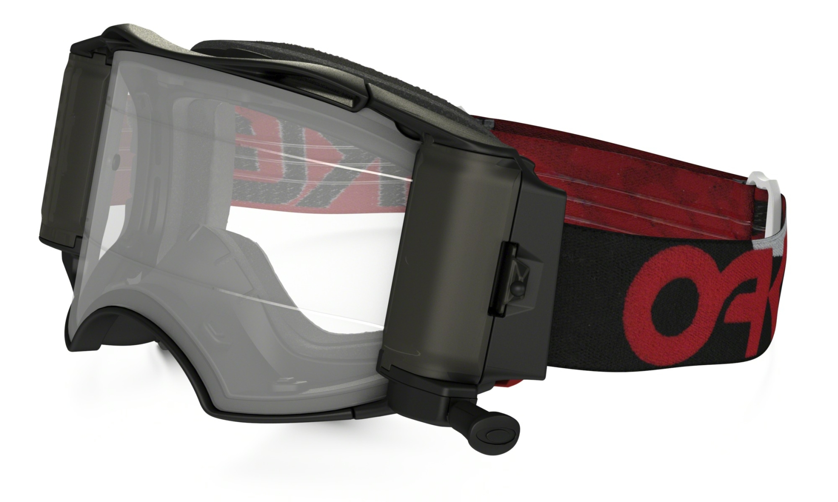 Oakley MX Factory B1-B Red/Black w/Rolloff-30