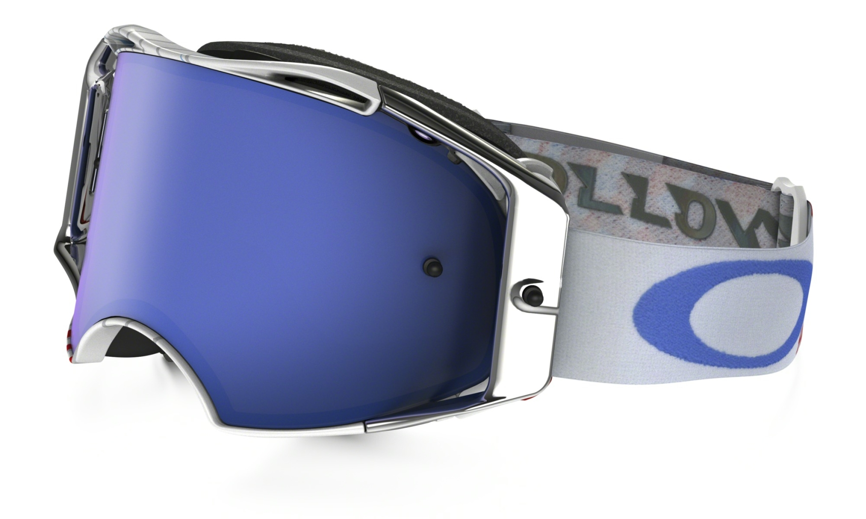Oakley Airbrake Mx RV High Octane RWB w/BlackIceIrid-30