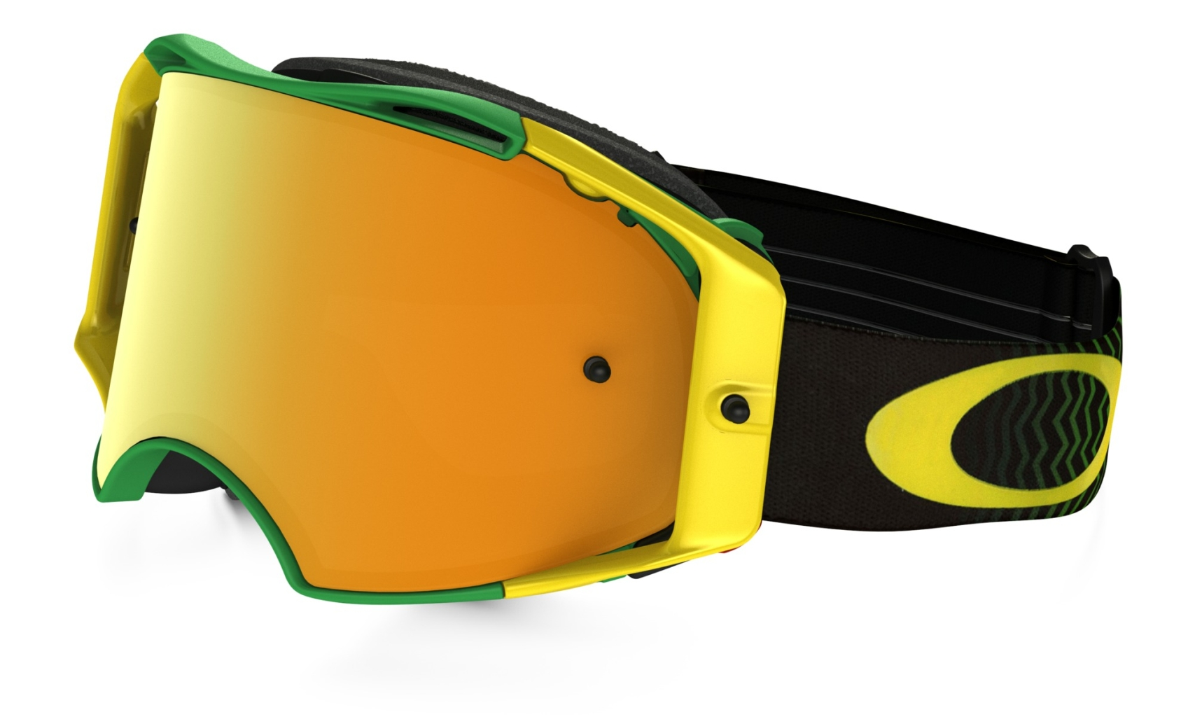 Oakley MX Shockwave Grn Yel w/24kIrid-30