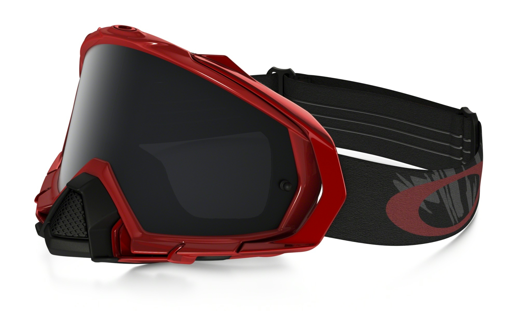 Oakley Mayhem Pro MX Reaper Blood Red w/Dk.Grey-30