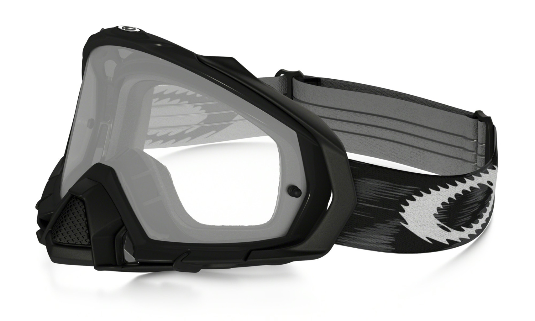 Oakley Mayhem Pro MX Jet Black Speed w/clear-30