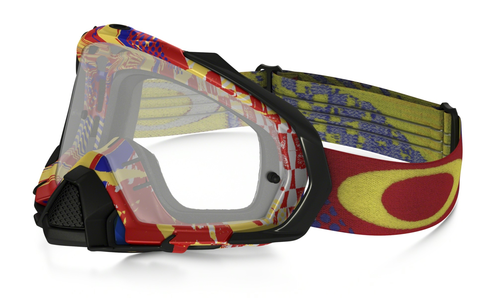Oakley Mayhem Pro Mx Mosh Pit RB w/Clear-30