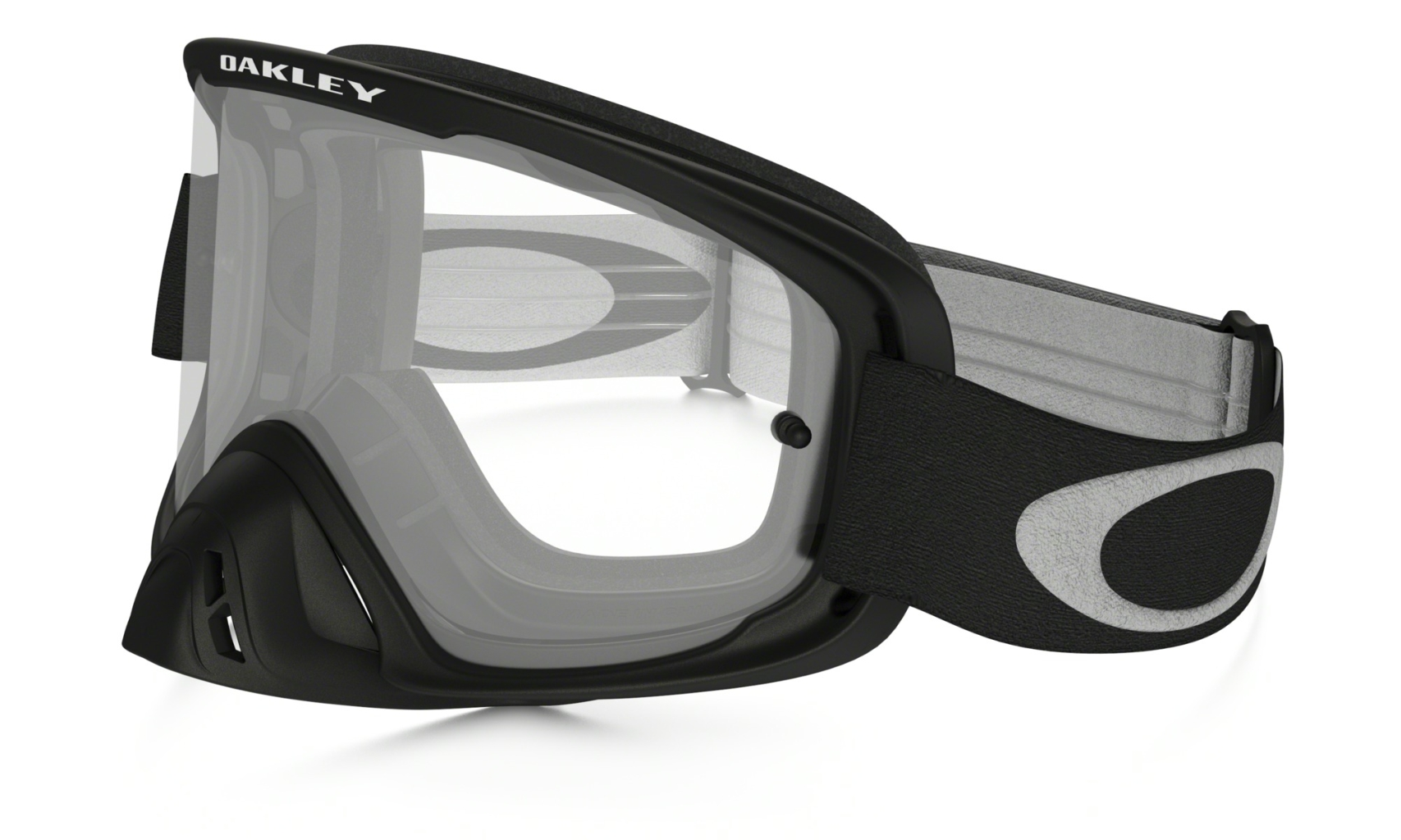 Oakley O2 MX Matte Black w/Clear-30