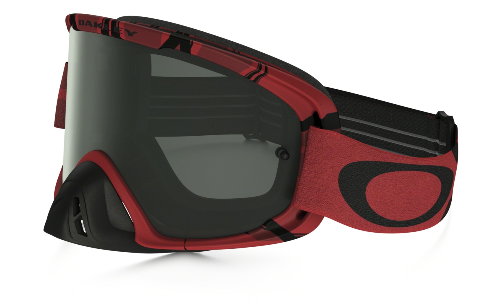 Oakley O2 Mx Intimidator Blood Red w/Dark Grey-30