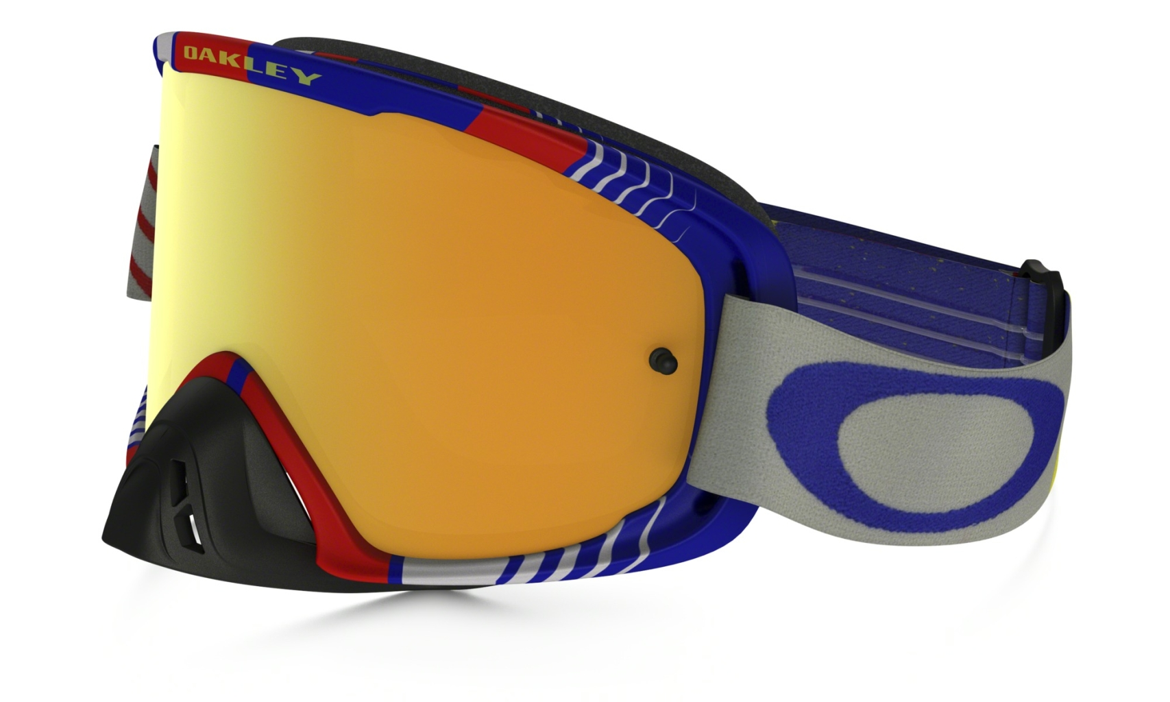 Oakley O2 Mx Frame: BIOHAZARD RB Lens: 24K IRIDIUM & CLEAR-30