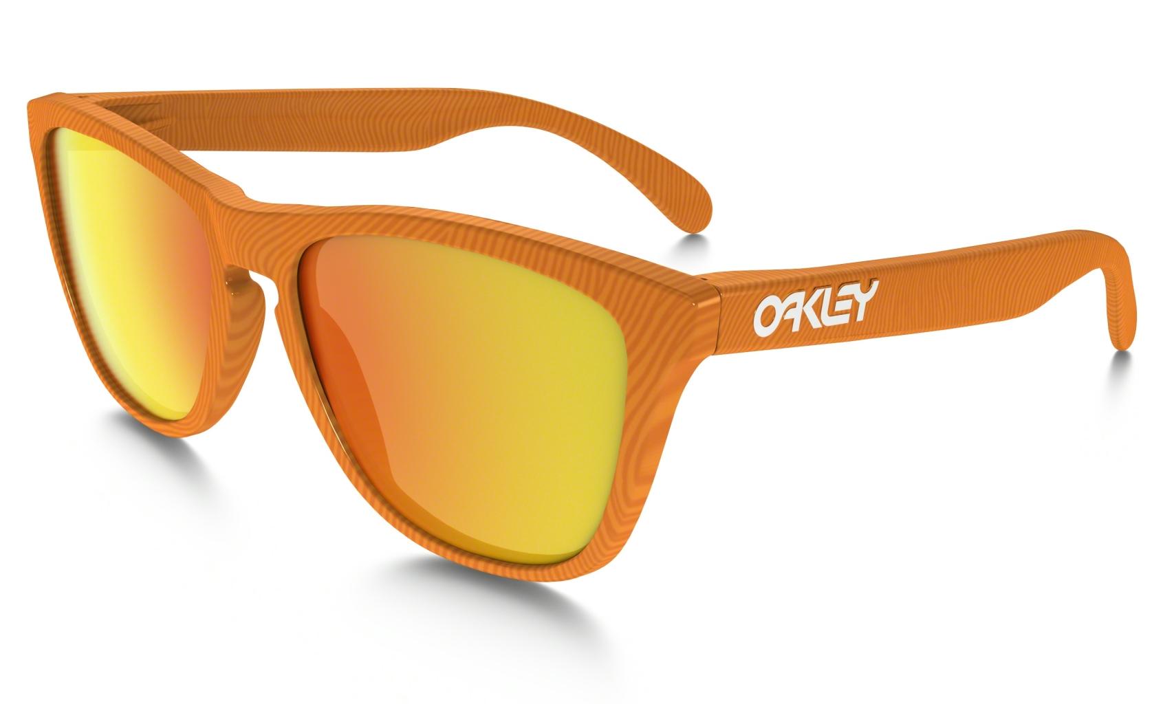 Oakley Frogskin FingerprintAtomicOrangew/FireIr-30