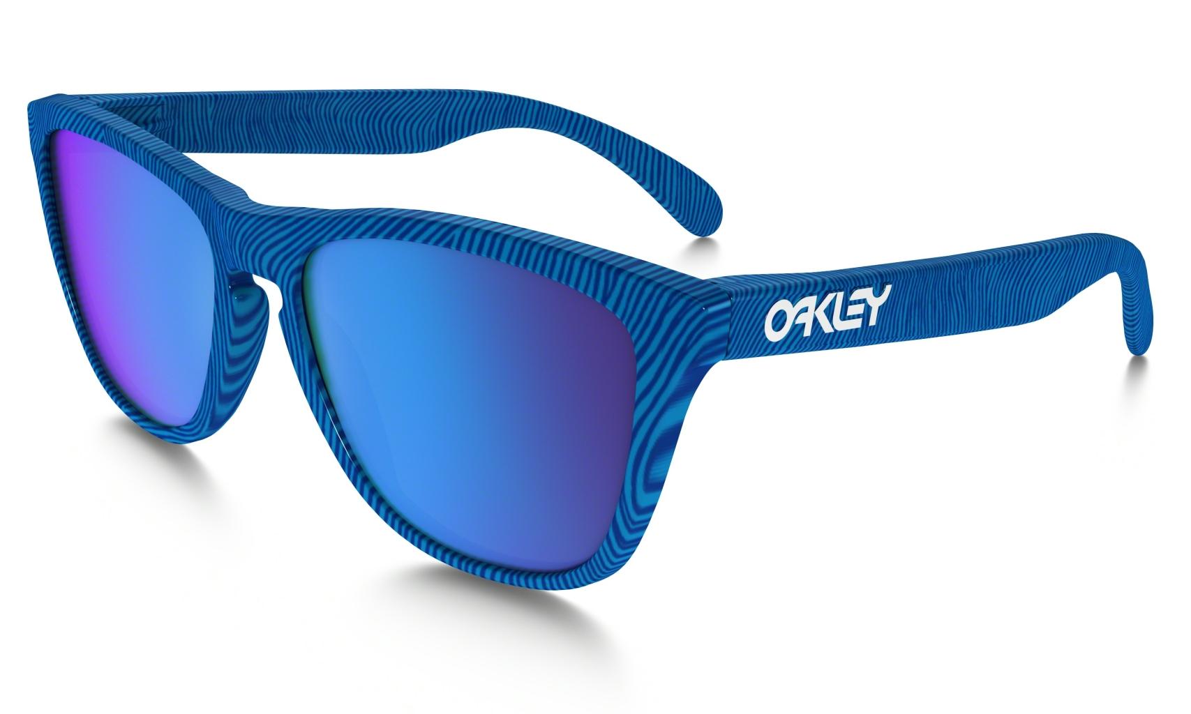 Oakley Frogskin FingerprintSkyBluew/SapphireIrd-30