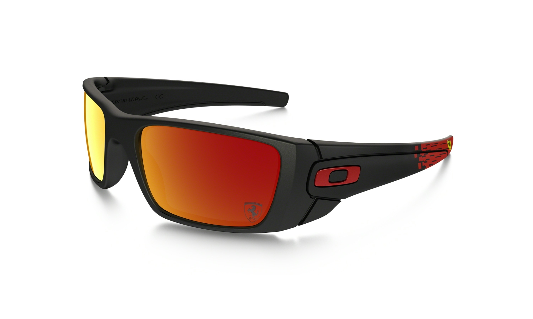 Oakley Fuel Cell Matte Black w/Ruby Iridium-30