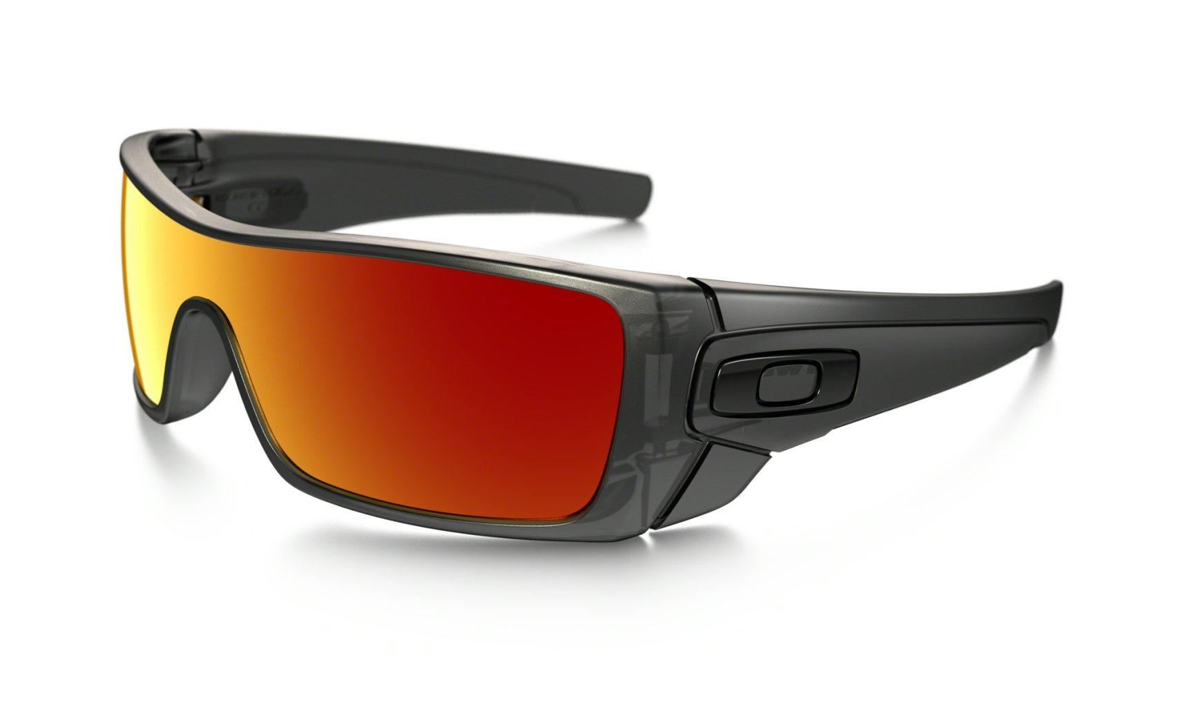 Oakley Batwolf Matte Black Ink w/Ruby Irid-30
