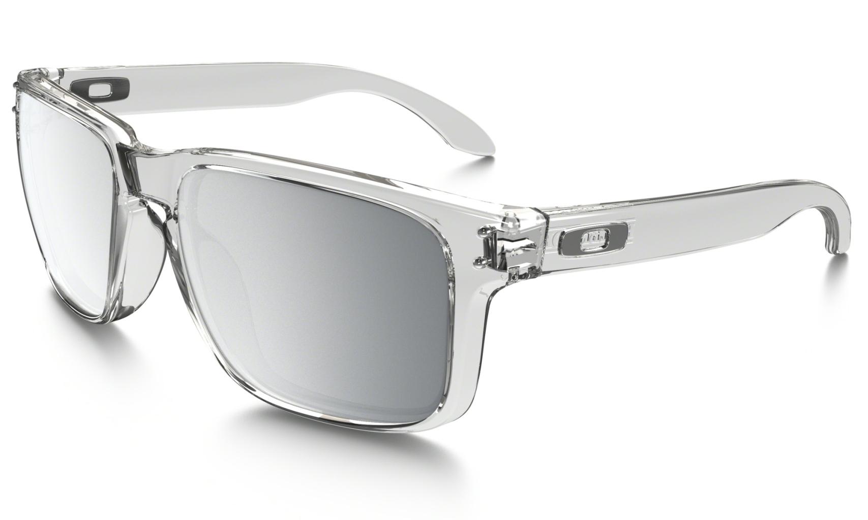 Oakley Holbrook Clear w/ Chrome Iridium-30
