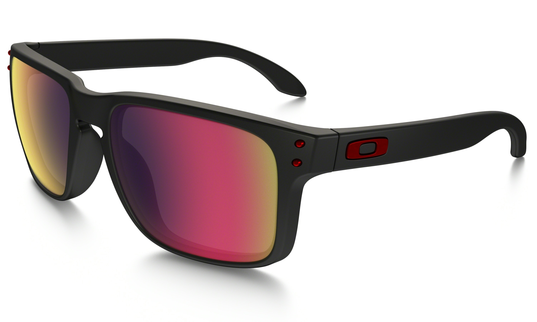 Oakley Holbrook Matte Black w/+ Red Iridium-30