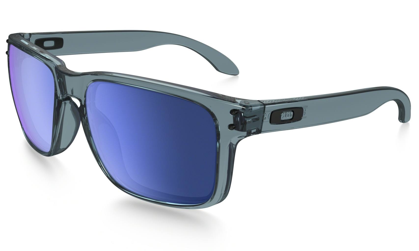 Oakley Holbrook Crystal Black w/ Ice Irid-30