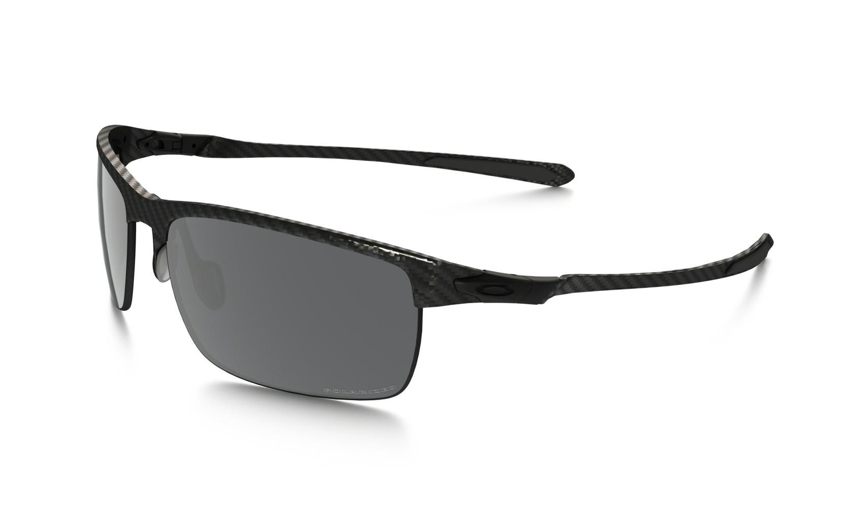 Oakley Carbon Blade Matte/StnBlk w/BlkIrdPolr-30