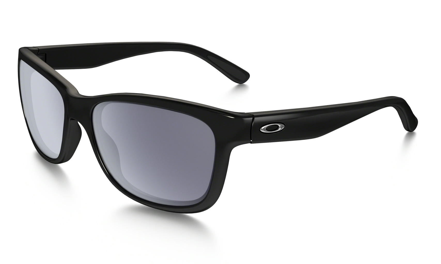 Oakley Forehand Polished Black w/ Grey-30
