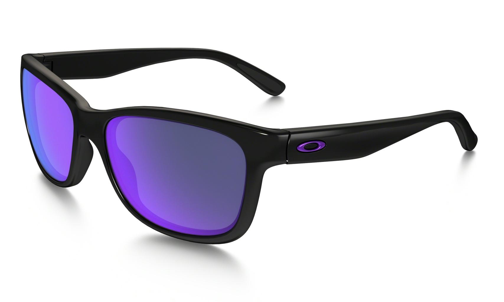 Oakley Forehand Pol Blk w/ Violet Irid-30