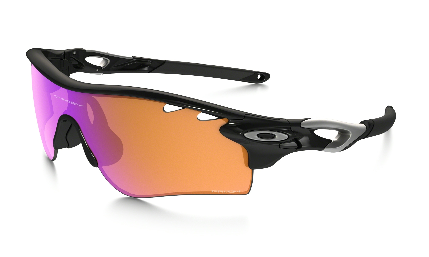 Oakley Radarlock Path PolBlkw/Trail&Clear Vtd.-30