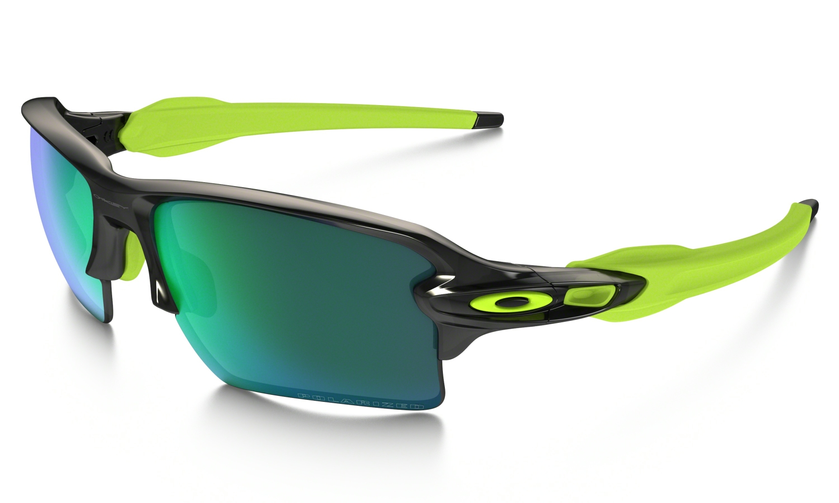 Oakley Flak 2.0 XL Black Ink w/ Jade Irid Polar-30
