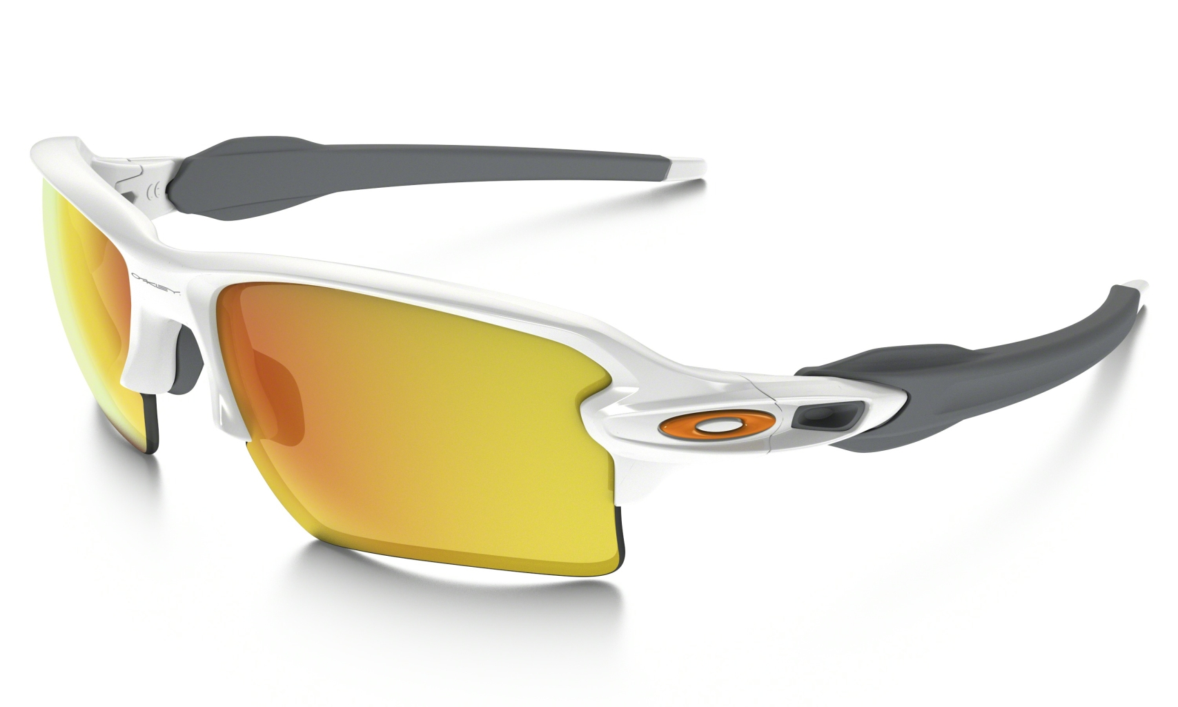 Oakley Flak 2.0 XL Polished White w/Fire Irid-30