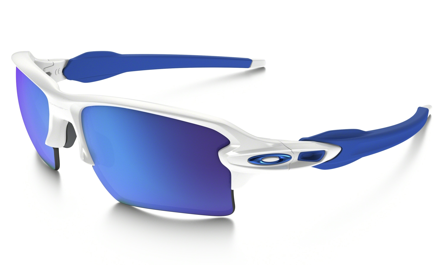 Oakley Flak 2.0 XL Polished Whitew/SapphireIrid-30