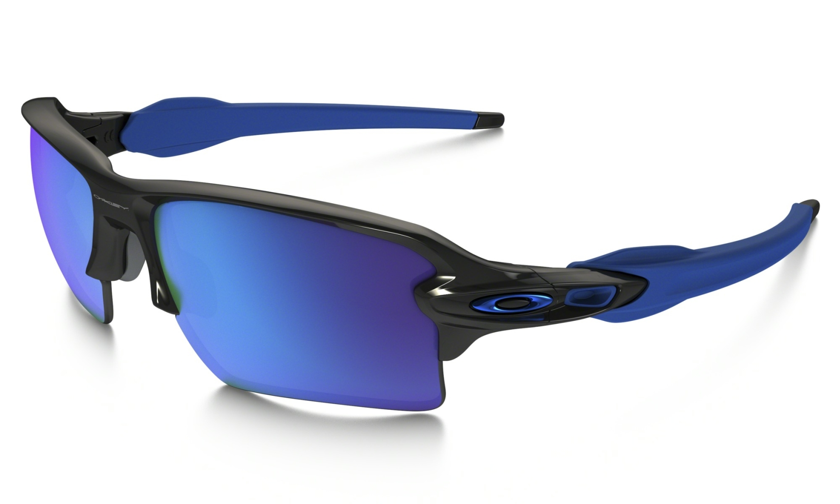 Oakley Flak 2.0 XL Polished Black w/Sapphire Iridium-30