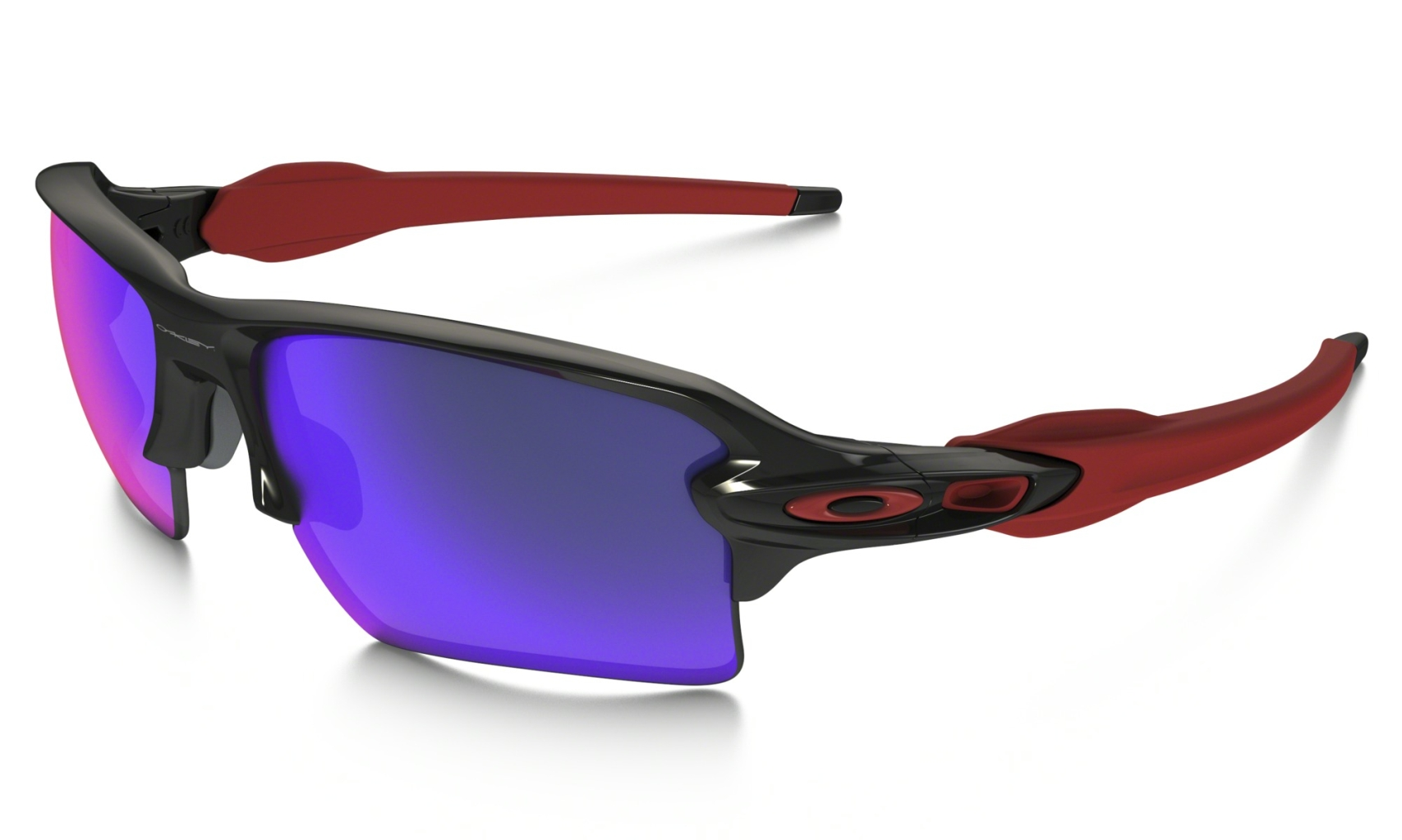 Oakley Flak 2.0 XL Polished Black w/+ Red Iridium-30