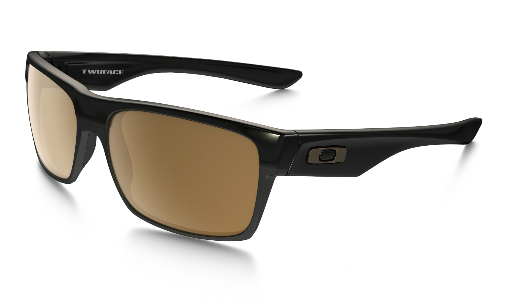 Oakley Two Face Polished Black w/ Dark Bronze-30