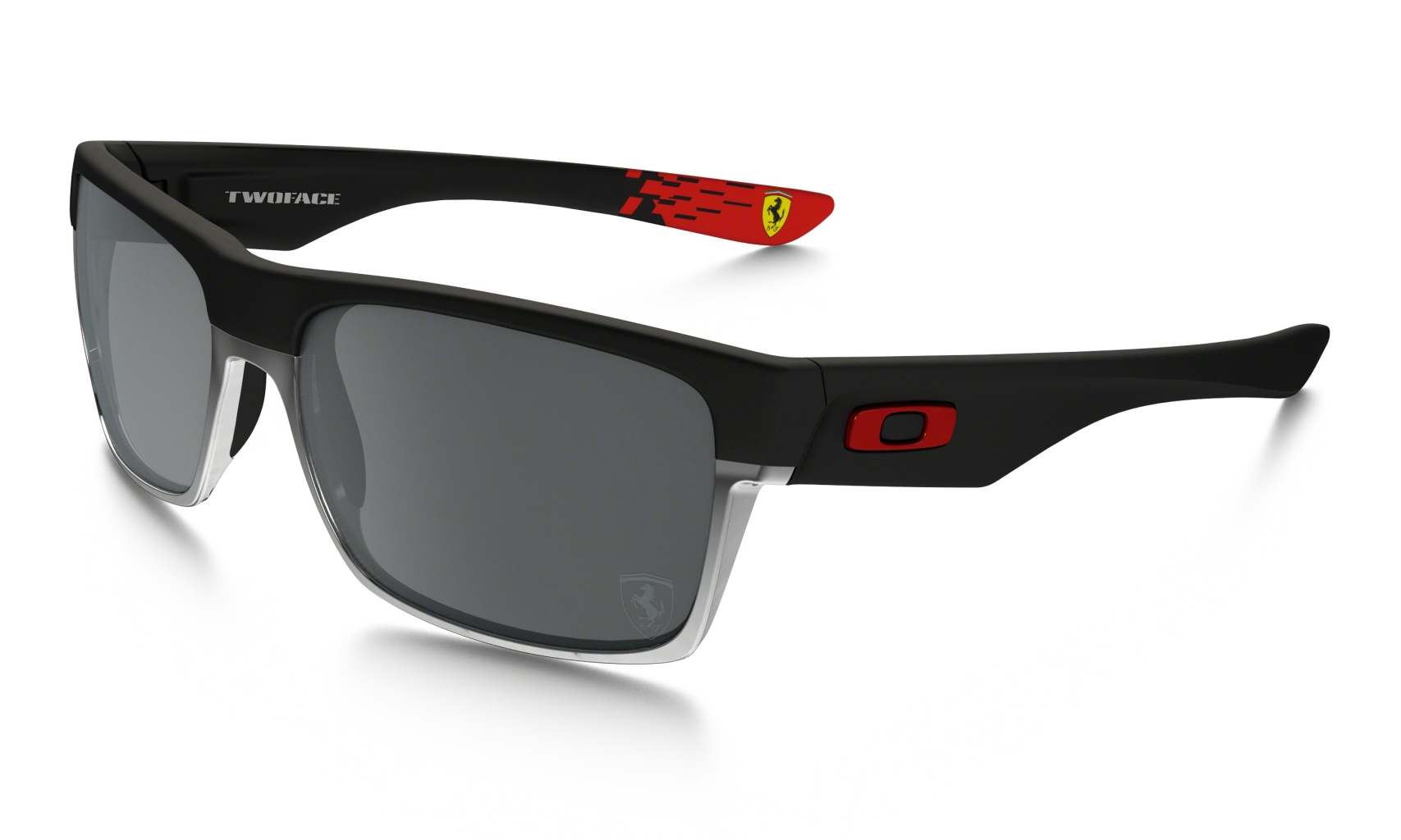 Oakley Two Face Matte Black w/Black Iridium-30