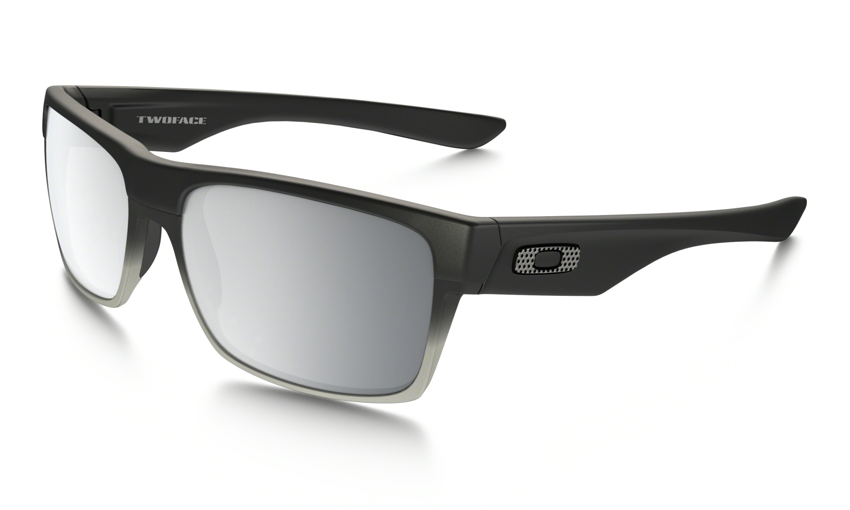 Oakley Twoface Machinist Matte Blk w/Chrome Irid-30