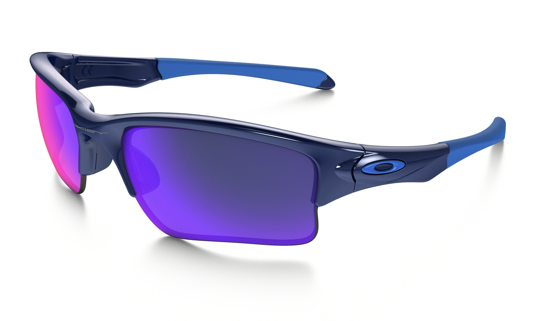 Oakley Quarter Jacket Polished Navy w/ +RedIrid-30
