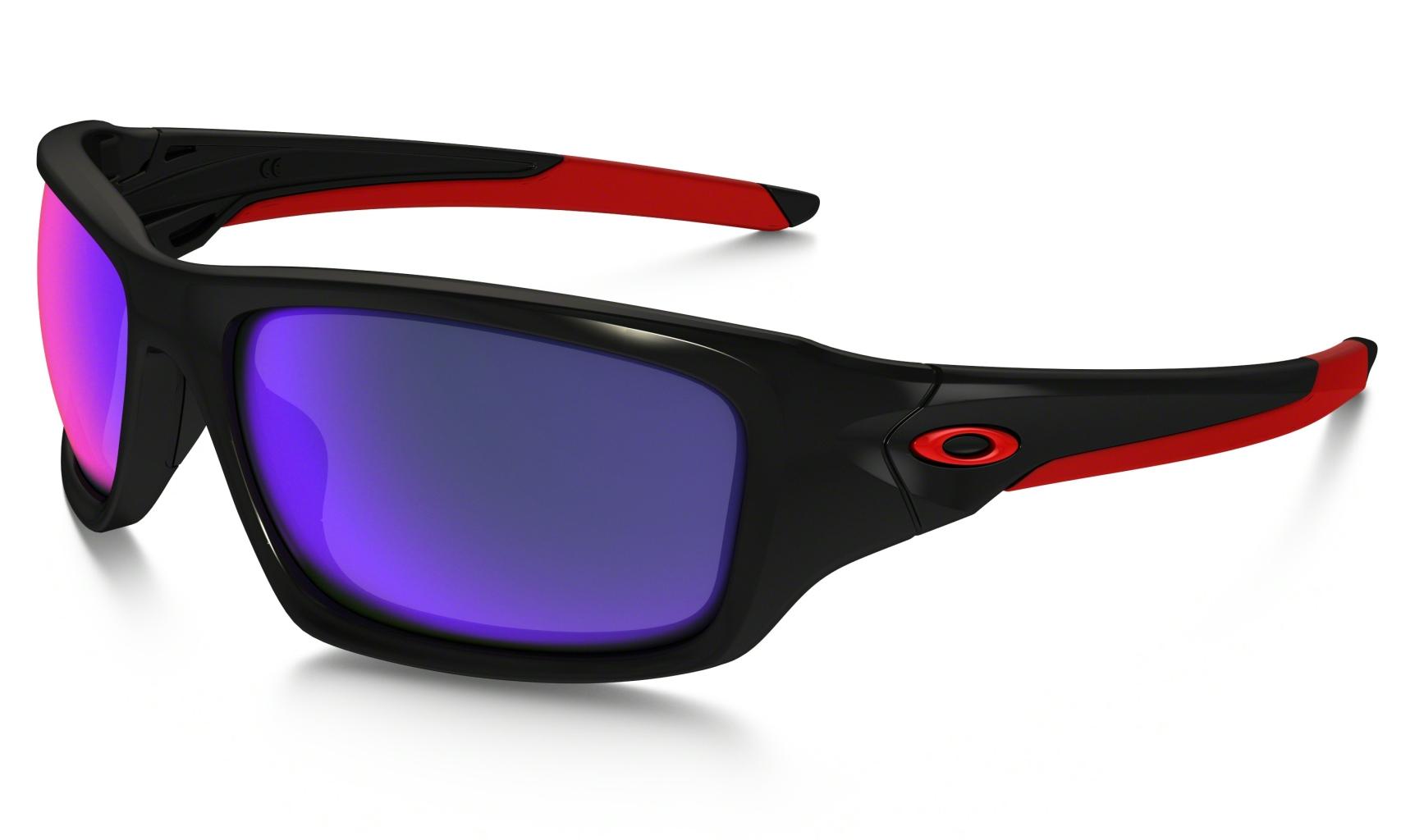 Oakley Valve Polished Black w/ + Red Iridium-30