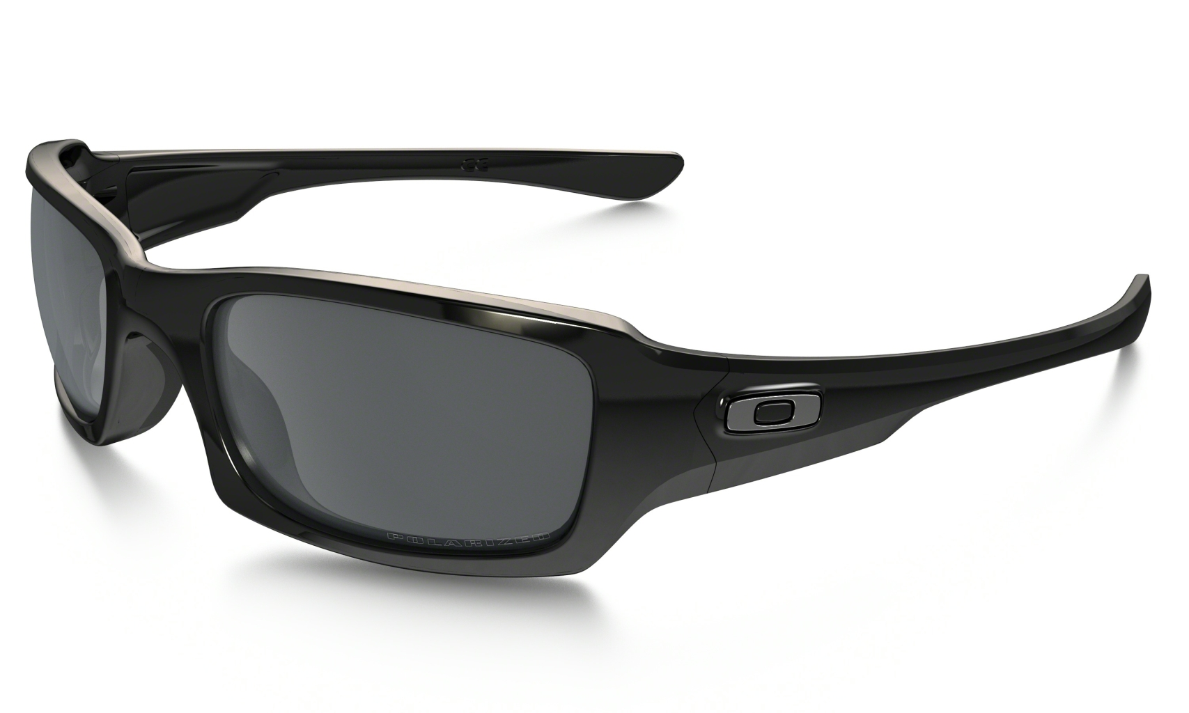 Oakley Fives Squared Pol Blk w/ Blk Ird Pol-30