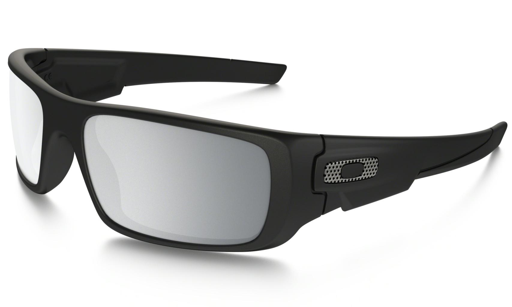 Oakley Crankshaft Machinist Matte Blk w/Chrome Irid-30