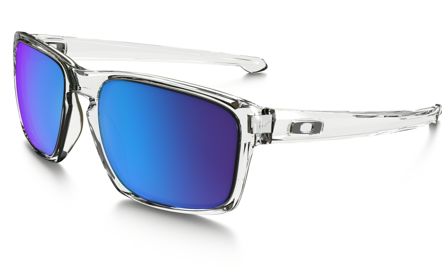 Oakley Sliver Polished Clear w/ Sapphire Irid-30