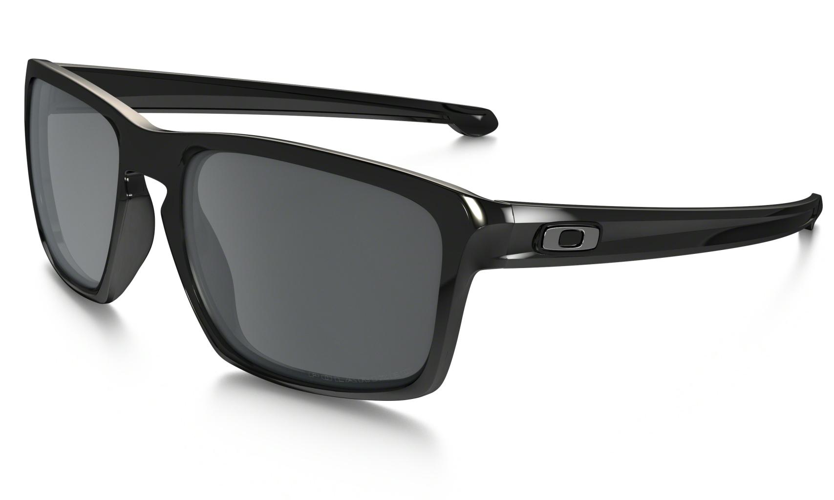 Oakley Sliver Pol Black w/ Black Irid Polar-30