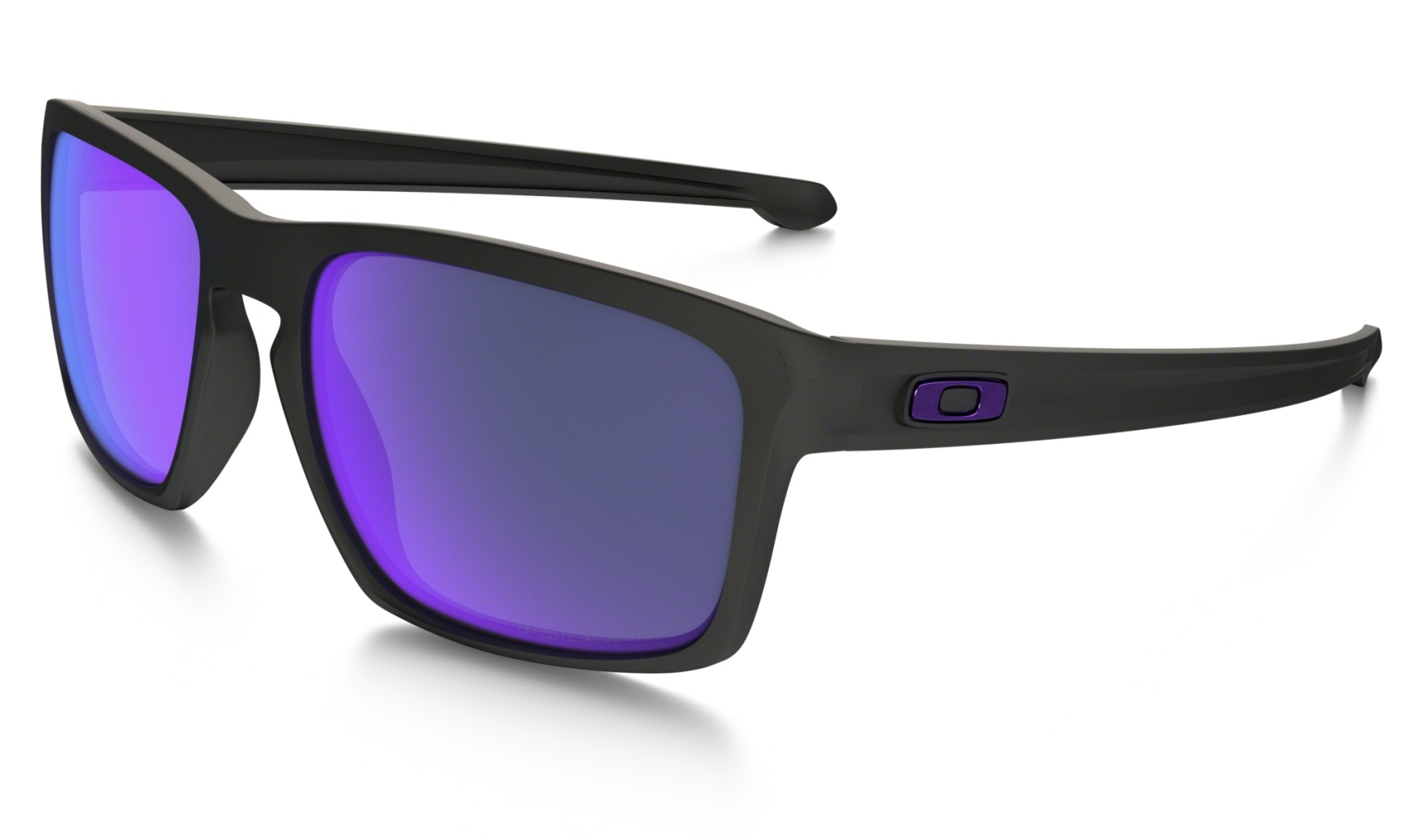 Oakley Sliver Matte Black w/ Violet Irid Polar-30