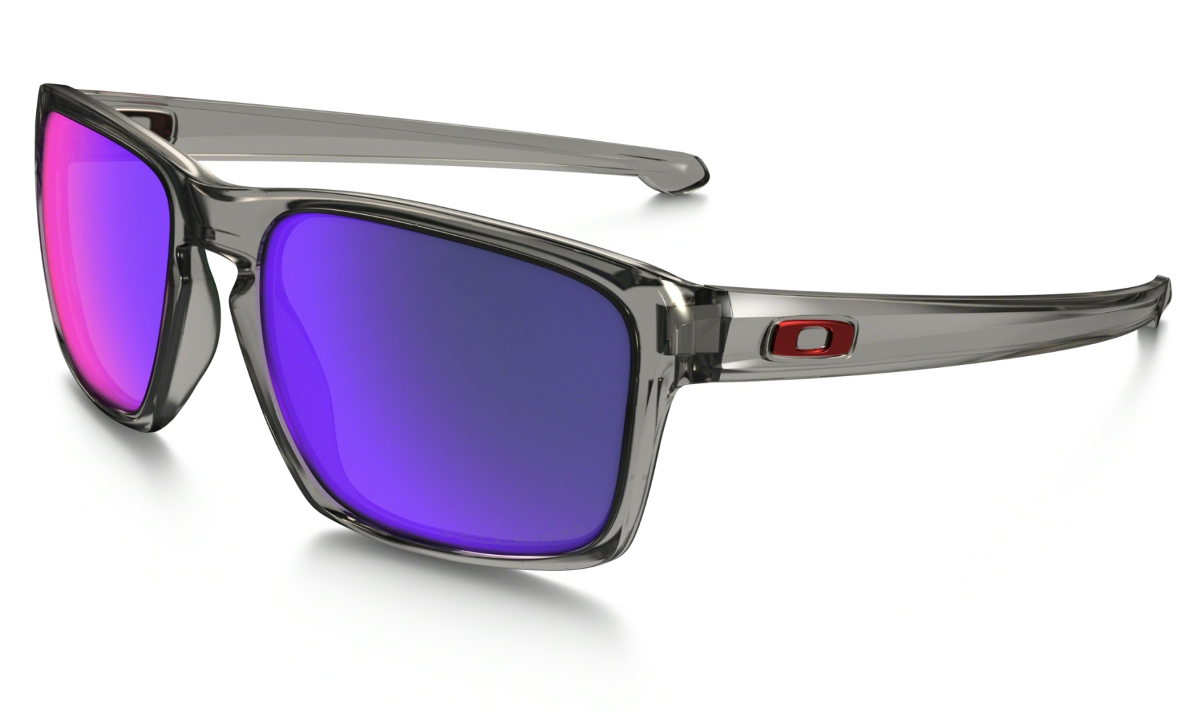 Oakley Sliver Grey Smoke w/ + Red Iridium Polar-30