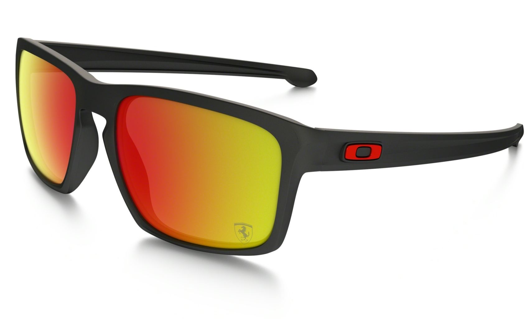 Oakley Sliver Matte Black w/Ruby Iridium-30