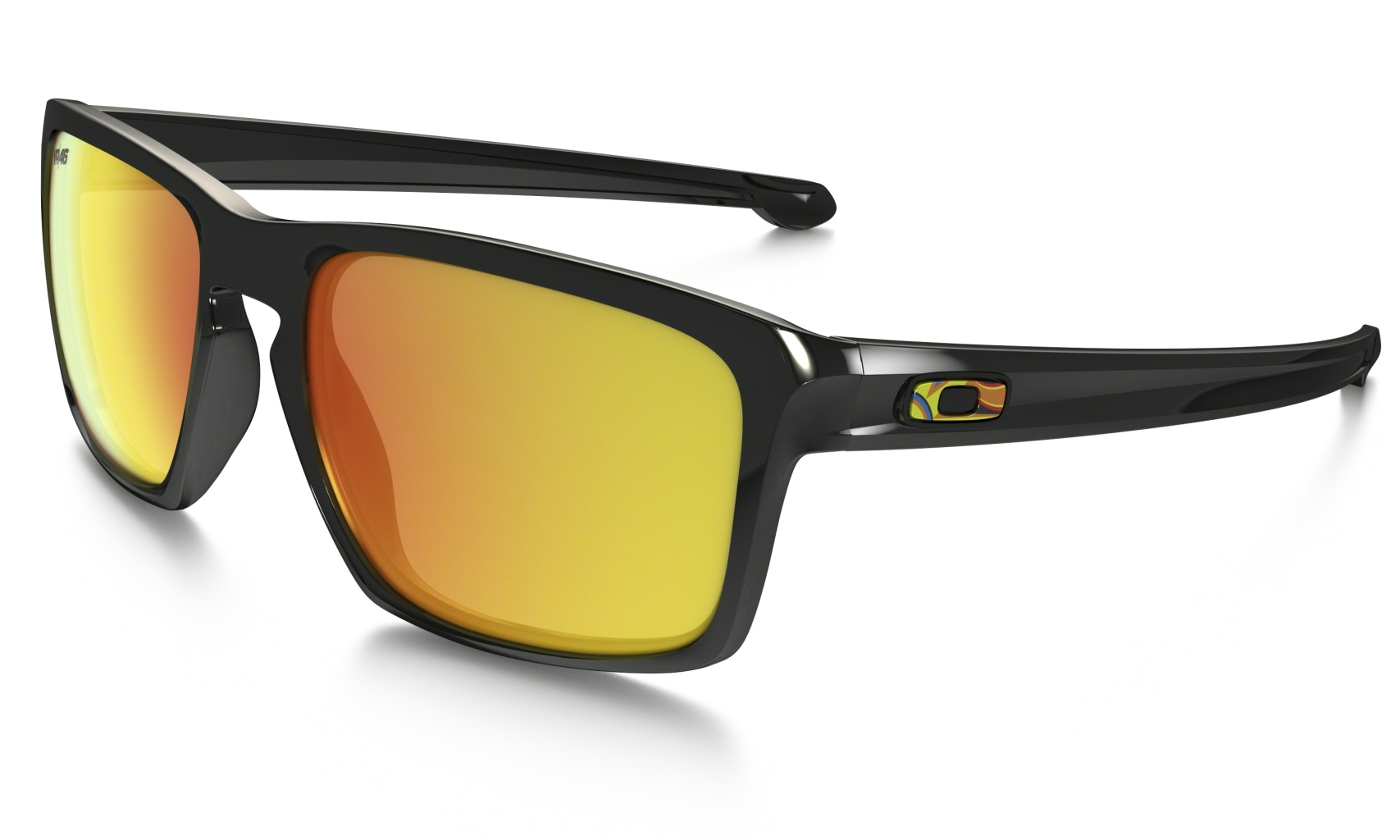 Oakley Sliver VR46 Polished Black w/Fire Irid-30