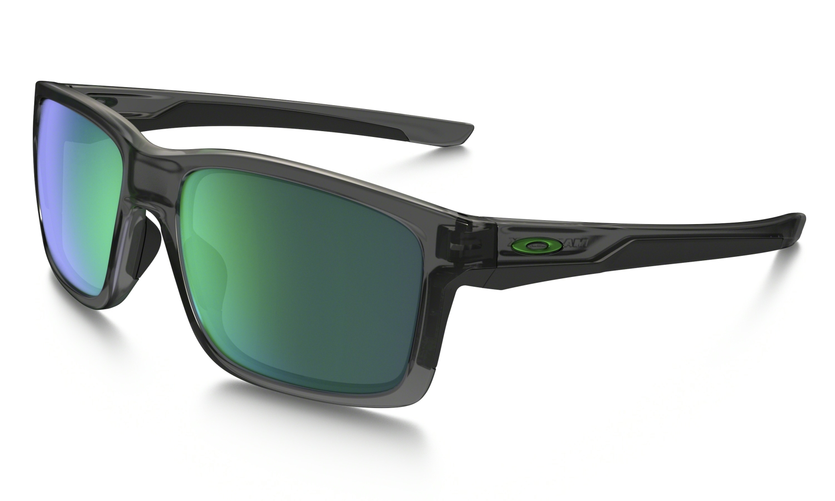 Oakley Mainlink Grey Smoke w/ Jade Iridium-30