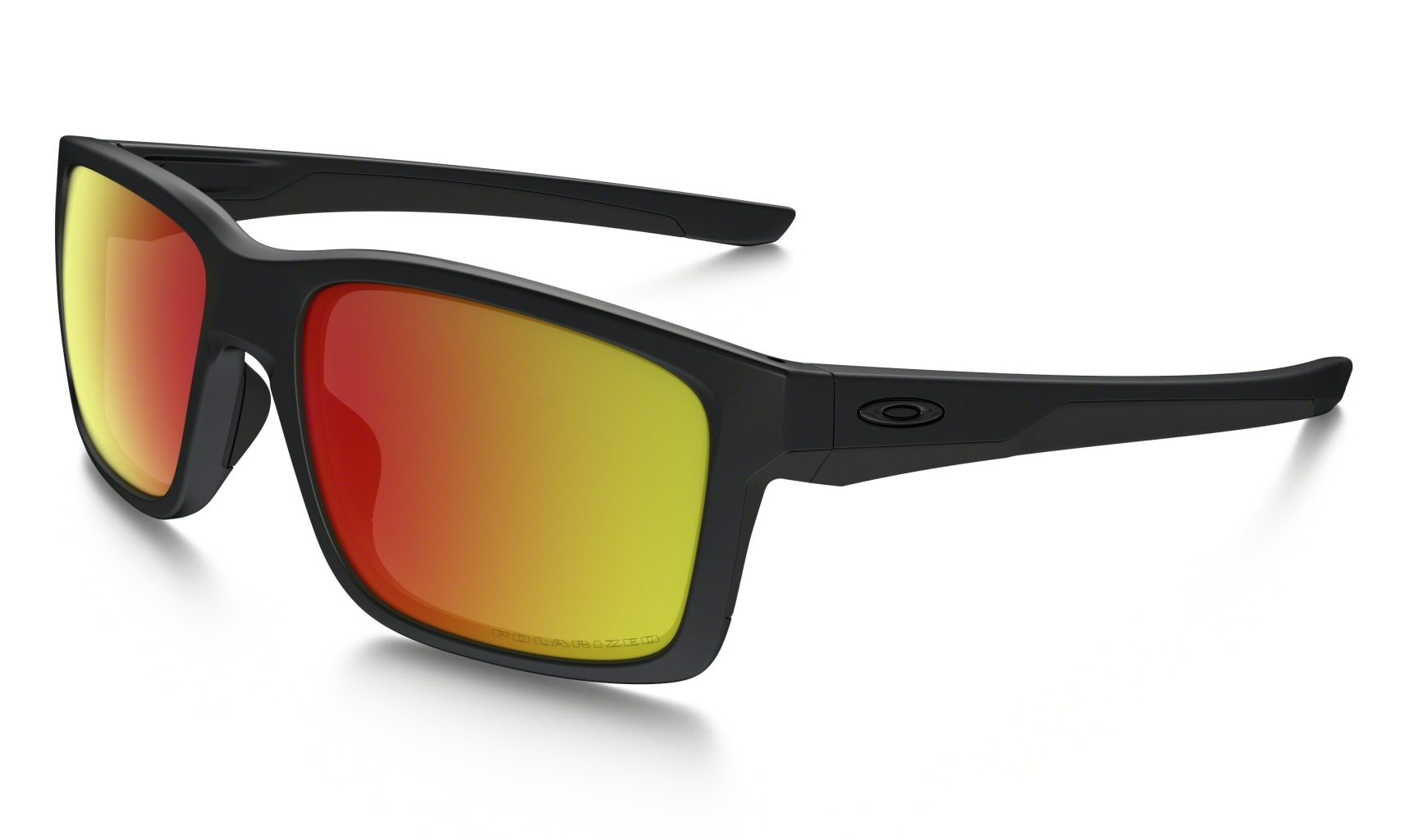 Oakley Mainlink Matte Black w/ Ruby Irid Polar-30