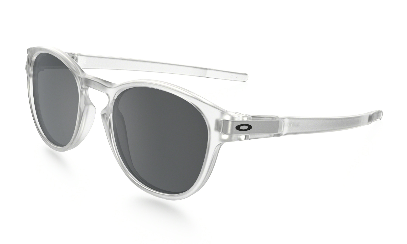 Oakley Latch Matte Clear w/ Black Iridium-30