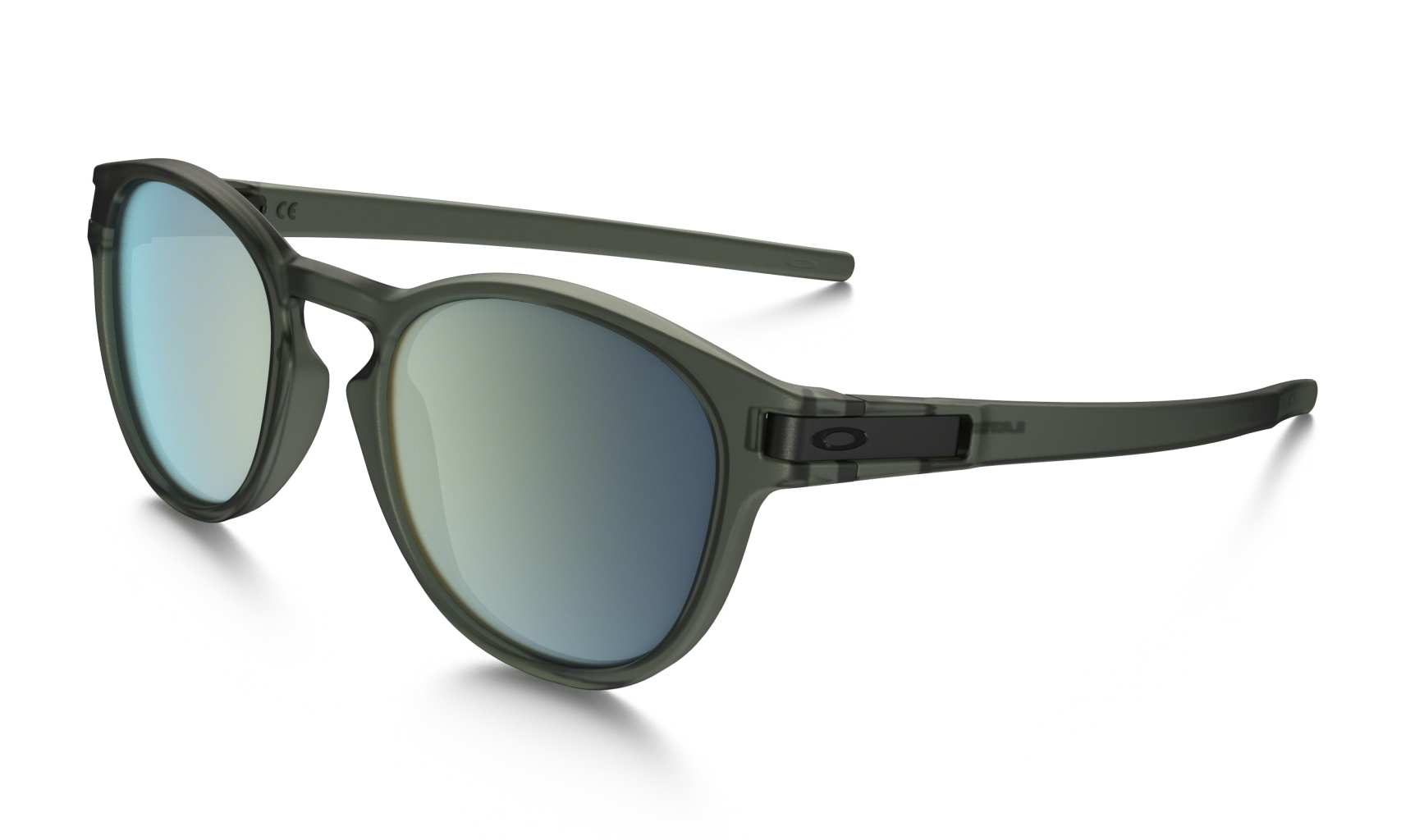 Oakley Latch Matte Olive Ink w/ Emerald Iridium-30