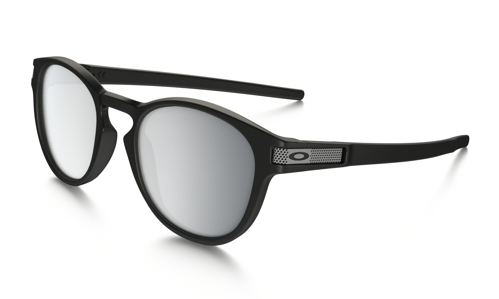 Oakley Latch Machinist Matte Blk w/Chrome Irid-30