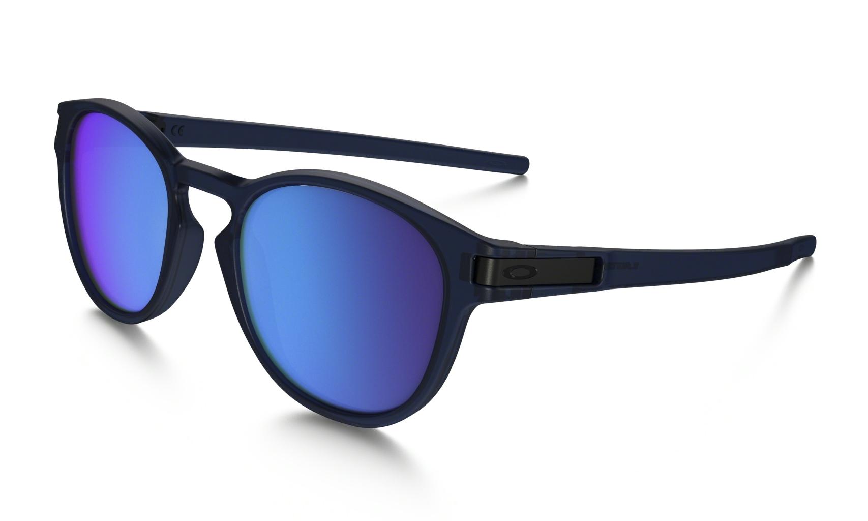 Oakley Latch Trans Blue w/ Sapphire Irid-30