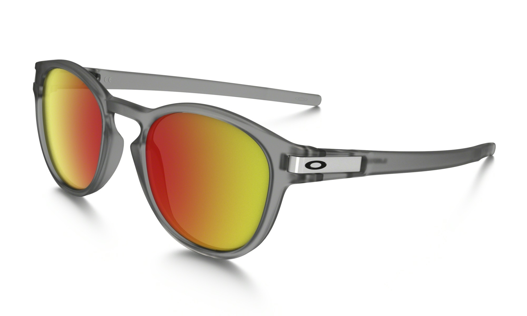 Oakley Latch Grey Ink w/ Ruby Iridium-30