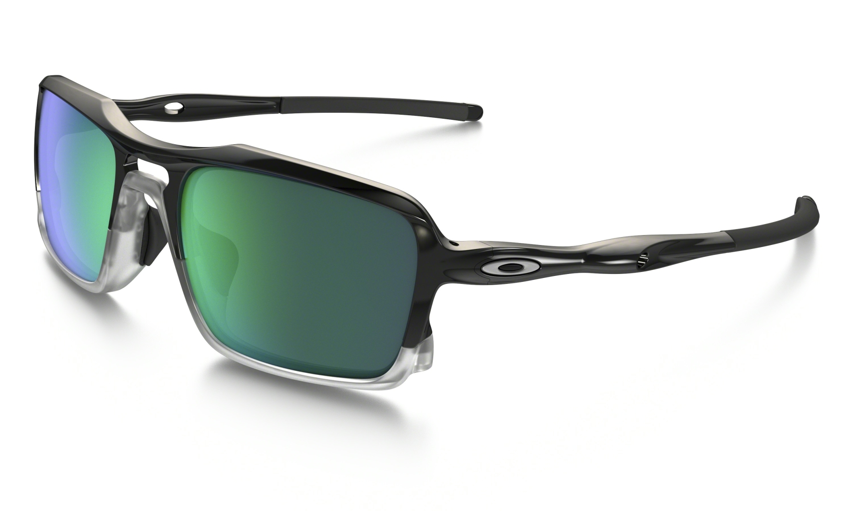 Oakley Triggerman Polished Black w/ Jade Irid-30