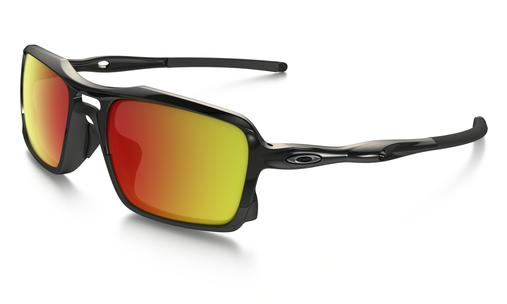 Oakley Triggerman Polished Black w/ Ruby Irid-30